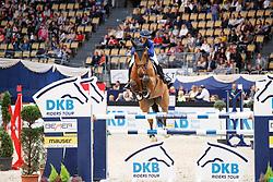Hugyecz, Mariann (HUN), Chacco Boy<br /> München - Munich Indoors 2016<br /> Championat von München<br /> © www.sportfotos-lafrentz.de / Stefan Lafrentz