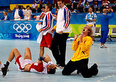 20080820 Olympics Beijing 2008, Håndbold Island-Polen