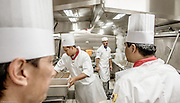 Royal Caribbean, Harmony of the Seas, the three stores kitchen for the main restaurants