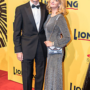 NLD/Scheveningen/20161030 - Premiere musical The Lion King, Richard Krajicek en partner Daphne Deckers