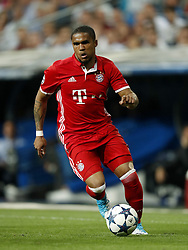 April 18, 2017 - Uefa Champions League - Douglas Costa of Bayern Munichduring the UEFA Champions League quarter final match between Real Madrid and Bayern Munich on April 18, 2017 at the Santiago Bernabeu stadium in Madrid, Spain (Credit Image: © Real Madrid V Bayern MüNchen/Hollandse-Hoogte via ZUMA Press)