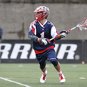 Will Manny #1 of the Boston Cannons looks to shoot the ball during the game at Harvard Stadium on April 27, 2014 in Boston, Massachusetts. (Photo by Elan Kawesch)