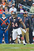 25 November 2012: Cornerback (24) Kelvin Hayden of the Chicago Bears in game action against the Minnesota Vikings during the second half of the Bears 28-10 victory over the Vikings in an NFL football game at Soldier Field in Chicago, IL.