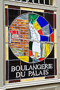 Boulangerie du Palais in old town Vieux Lyon, France (UNESCO World Heritage Site)
