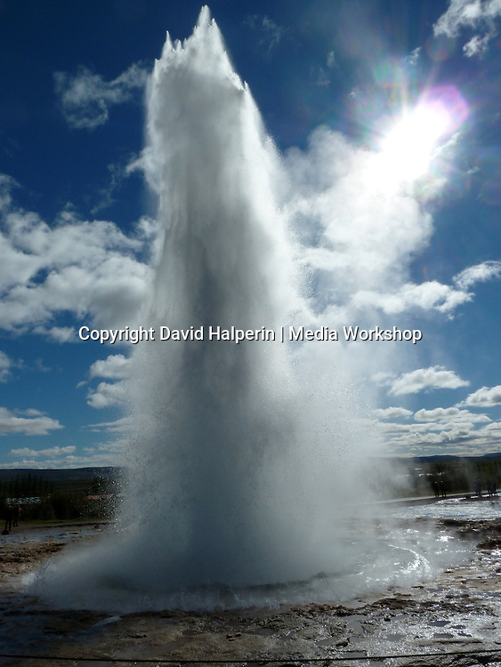 "Strokkur (""Stroke"") geyser: 1 of 3 time-lapse"