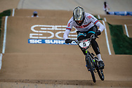 #5 (WHYTE Kye) GBR at Round 2 of the 2020 UCI BMX Supercross World Cup in Shepparton, Australia.