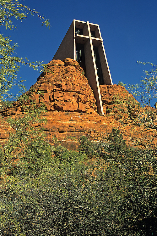 A georgeous chapel built into the beautiful red rocks of Sedona