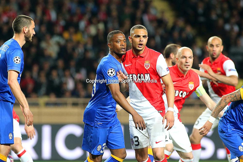 Patrice EVRA / Layvin KURZAWA - 22.04.2015 - Monaco / Juventus Turin - 1/4Finale retour Champions League<br /> Photo : Serge Haouzi / Icon Sport
