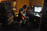 Craig Parker Adams at Winslow Ct. Studio control room.