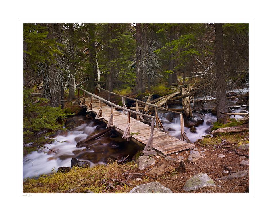 Old Bridge at Fishhook Creek