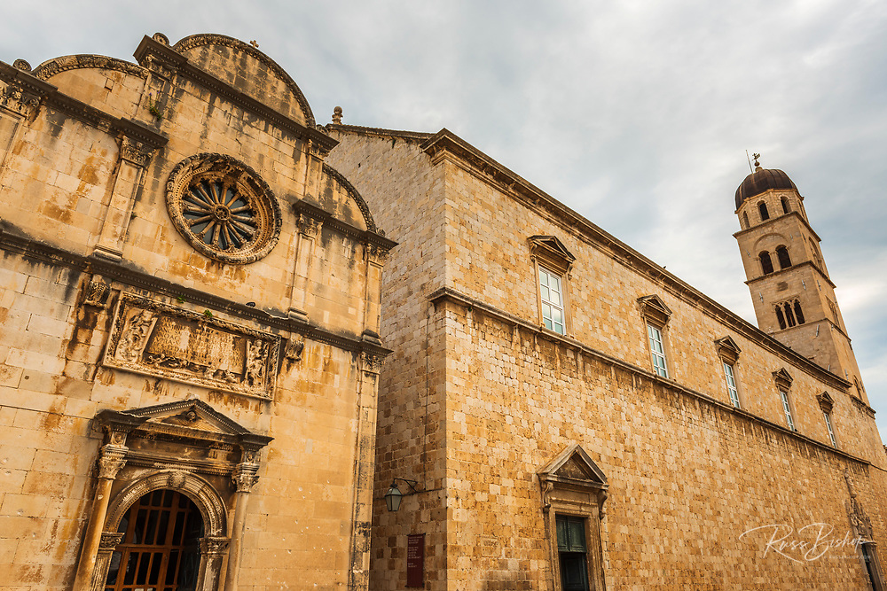 St. Saviour Church and the Franciscan Monastery, old town Dubrovnik, Dalmatian Coast, Croatia