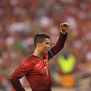 Cristiano Ronaldo, Portugal, during the Portugal V Ireland International Friendly match in preparation for the 2014 FIFA World Cup in Brazil. MetLife Stadium, Rutherford, New Jersey, USA. 10th June 2014. Photo Tim Clayton
