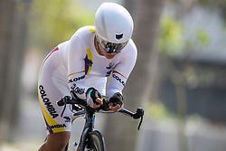MUNEVAR Daniela Carolina, COL, C3, Cycling, Time-Trial at Rio 2016 Paralympic Games, Brazil