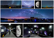 Christchurch International Airport - Tekapo night skies Airbridge Murals