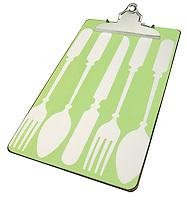 silverware clipboard wide angle