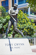 Tony Gwynn Padre Baseball Sculpture at Petco Park San Diego