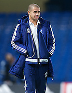 Derlis Gonzalez of Dynamo Kyiv before the UEFA Champions League match at Stamford Bridge, London<br /> Picture by Alan Stanford/Focus Images Ltd +44 7915 056117<br /> 04/11/2015