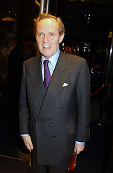 """The MARQUESS OF DOURO at a party to celebrate the opening of the new Mont Blanc store at 151 Sloane Street, London on 9th March 2005.  The evening was held in conjunction with UNICEF's """"Sign up for the right to write"""" campaign which is raising money though the sale of celebraties 'statements' currently for auction on the ebay website.<br /><br />NON EXCLUSIVE - WORLD RIGHTS"""