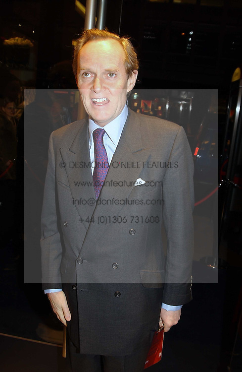 The MARQUESS OF DOURO at a party to celebrate the opening of the new Mont Blanc store at 151 Sloane Street, London on 9th March 2005.  The evening was held in conjunction with UNICEF's &quot;Sign up for the right to write&quot; campaign which is raising money though the sale of celebraties 'statements' currently for auction on the ebay website.<br /><br />NON EXCLUSIVE - WORLD RIGHTS