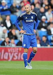 Matthew Connolly of Cardiff City  - Mandatory by-line: Joe Meredith/JMP - 07966386802 - 28/07/2015 - SPORT - FOOTBALL - Cardiff,Wales - Cardiff City Stadium - Cardiff City v Watford - Pre-Season Friendly
