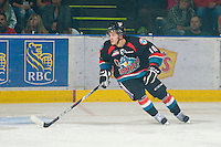 KELOWNA, CANADA, OCTOBER 1: Filip Vasko #10 of the Kelowna Rockets skates against the Vancouver Giants on October 1, 2011 at Prospera Place in Kelowna, British Columbia, Canada (Photo by Marissa Baecker/Getty Images) *** Local Caption ***