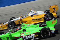 James Hinchcliffe, Milwaukee IndyFest, Milwaukee Mile, West Allis, WI 06/16/12