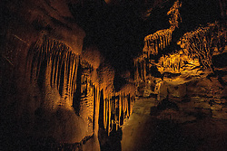 Frozen Niagara portion of Mammoth Cave, Mammoth Cave National Park, Kentucky, United States of America