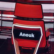 NLD/Hilversum/20190201- TVOH 2019 1e liveshow, stoel Anouk