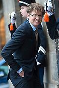Koning Willem-Alexander en Koningin Máxima houden het Nieuwjaarsontvangst voor Nederlandse genodigden  in het Koninklijk Paleis Amsterdam.<br /> <br /> King Willem-Alexander and Queen Maxima keep the New Year Reception for Dutch guests in the Royal Palace in Amsterdam.<br /> <br /> Op de foto / On the photo: Staatssecretaris van Onderwijs, Cultuur en Wetenschap Sander Dekker