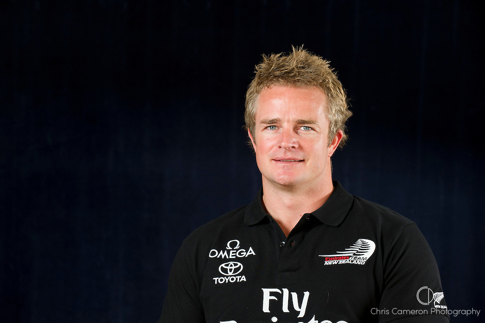 Emirates Team New Zealand America's Cup sailor Winston McFarlane. 29/3/2011