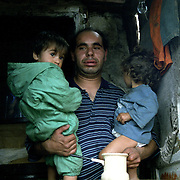 Roma in Tuzla in an enclave in Bosnia Hercegovina. Roma are segregated and to survive they rely on support from humanitarian aid.