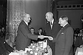 1963 - Irish Shell staff Social Club  long service award presentations