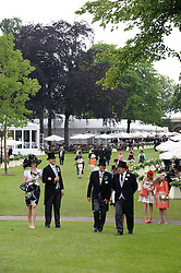 Atmosphere at Day 1 of the 2013 Royal Ascot Racing Festival at Ascot Racecourse, Ascot, Berkshire on 18th June 2013.