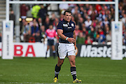 Scotland's John Hardie during the Rugby World Cup Pool B match between Scotland and Japan at the Kingsholm Stadium, Gloucester, United Kingdom on 23 September 2015. Photo by Shane Healey.