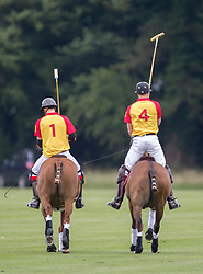 Cirencester - UK- 15th July 2017:  <br /> Prince William and Prince Harry play polo at Cirencester Park Polo Club in Gloucestershire. Playing at No 4 and No 1 the Princes compete in the Jerudong Trophy charity match for Walking with the Wounded <br /> The charity match will help raise funds and awareness for The Household Cavalry Operational Casualties Fund, and two charities that The Duke and Prince Harry support as Patrons: Centrepoint, whose Patron is The Duke of Cambridge, and Walking with the Wounded, whose expeditions Prince Harry has been Patron of for a number of years.<br /> Photo by Ian Jones