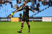 Wasps utility back Willie Le Roux (15) smiles during the Aviva Premiership match between Wasps and London Irish at the Ricoh Arena, Coventry, England on 4 March 2018. Picture by Dennis Goodwin.