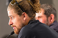 Media Conference with (R-L) Ralph Denk, Team Manager and UCI World Road Champion,  Peter Sagan Tour Down Under, Australia on the 14 of January 2017 ( Credit Image: © Gary Francis / ZUMA WIRE SERVICE )