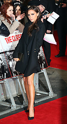 Victoria Beckham arriving at the The Class of 92 premiere in London, Sunday, 1st December 2013. <br /> Picture by Stephen Lock / i-Images