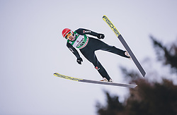 11.01.2020, Stadio del Salto, Predazzo, ITA, FIS Weltcup Nordische Kombination, Skisprung, im Bild Eric Frenzel (GER) // Eric Frenzel (GER) during Skijumping Competition of FIS Nordic Combined World Cup at the Stadio del Salto in Predazzo, Italy on 2020/01/11. EXPA Pictures © 2020, PhotoCredit: EXPA/ JFK