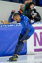 11-12-2016 NED: ISU World Cup Speed Skating, Heerenveen<br /> Shani Davis USA op de 1000 m