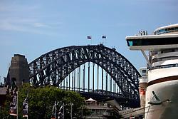 AUSTRALIA NEW SOUTH WALES SYDNEY 26FEB08 - View of Sydney Harbour Bridge in Sydney, Australia..jre/Photo by Jiri Rezac..© Jiri Rezac 2008..Contact: +44 (0) 7050 110 417.Mobile:  +44 (0) 7801 337 683.Office:  +44 (0) 20 8968 9635..Email:   jiri@jirirezac.com..Web:    www.jirirezac.com..© All images Jiri Rezac 2008 - All rights reserved.