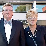 NLD/Hilversum/20100830 - Voetbalgala 2010, Arie Van der Heijden en partner