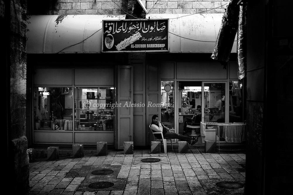 Jerusalem : Jerusalem's Old City on April 1, 2010.© ALESSIO ROMENZI