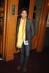 Singer MIKA at the gala night of Varekai by Cirque du Soleil at The Royal Albert Hall, London on 8th January 2008.<br />