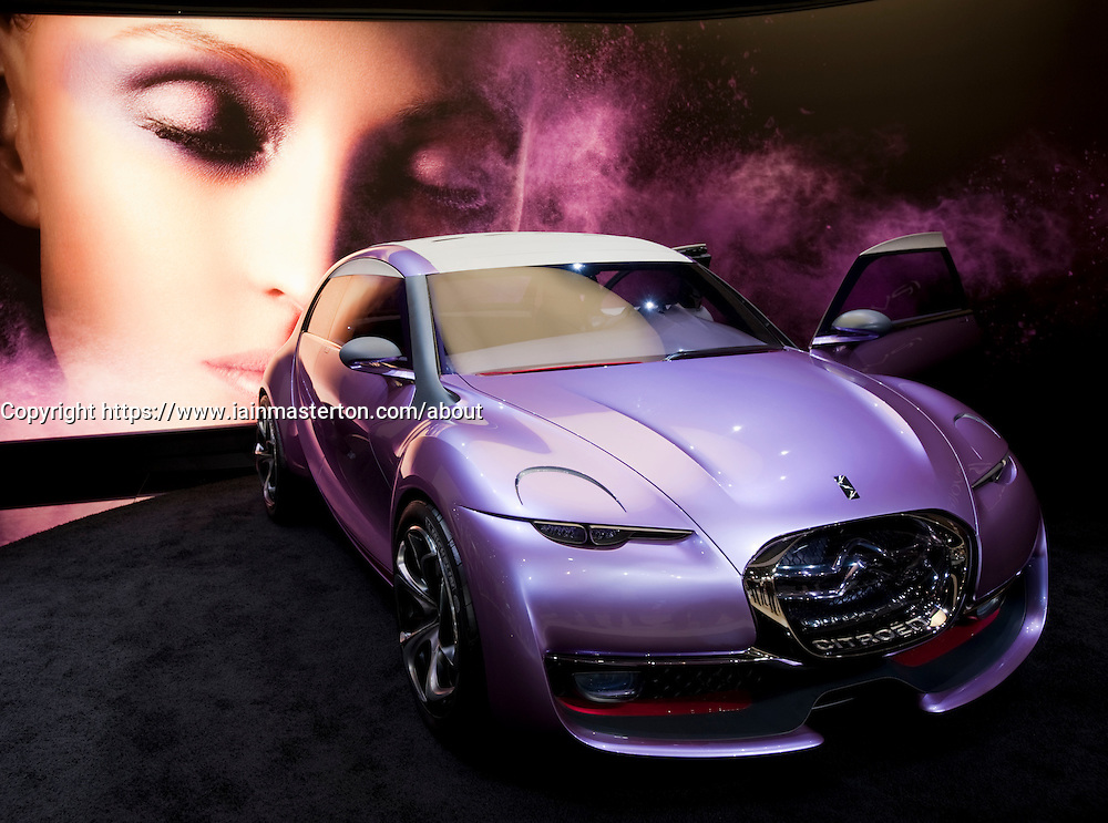 The Citroen Revolte concept car unveiled at the Frankfurt Motor Show 2009