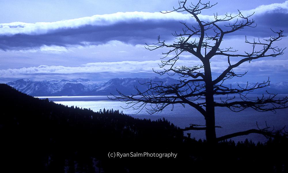 A storm gathers over Desolation