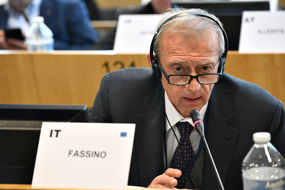 11 May 2017, PES Group meeting<br /> Belgium - Brussels - May 2017 <br /> FASSINO	Piero<br /> &copy; European Union / Photographer