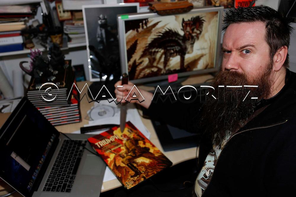 Greg Broadmore, Weta Studios, Wellington, New Zealand