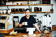 Timothy Willcox owner of Fillmore Coffee