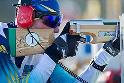 RESHETYNSKIY Iaroslav Guide: GERGARDT Artur, UKR, Biathlon Pursuit, 2015 IPC Nordic and Biathlon World Cup Finals, Surnadal, Norway